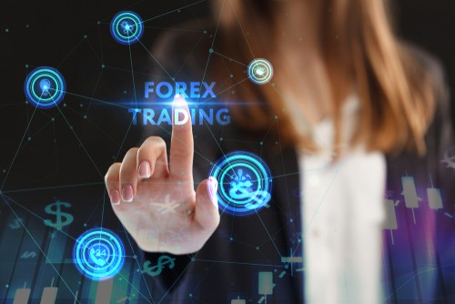 Development of forex trading