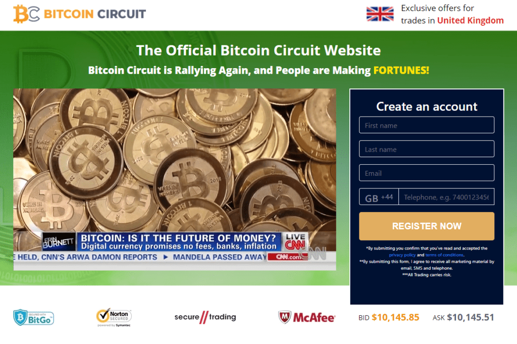 Bitcoin Circut
