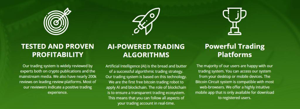Bitcoin Circuit Features